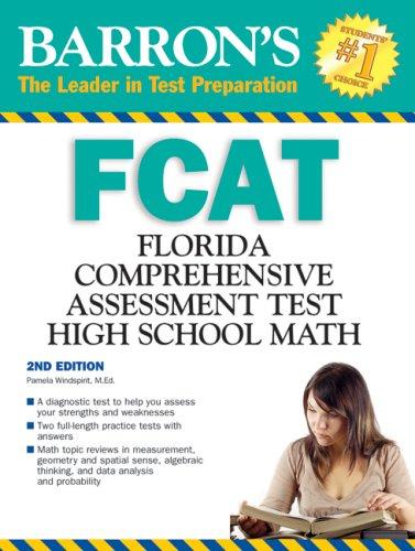 9780764140150: Barron's FCAT High School Math (Barron's: The Leader in Test Preparation)