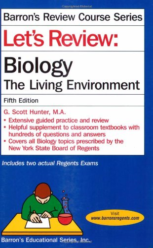 9780764140181: Let's Review: Biology, The Living Environment (Let's Review Series)