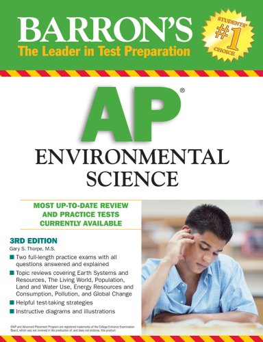 9780764140525: Barron's AP Environmental Science
