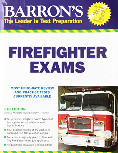 9780764140938: Barron's Firefighter Exams