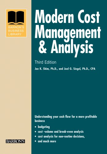 9780764141034: Modern Cost Management and Analysis (Barron's Business Library Series)
