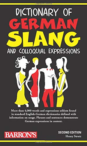 9780764141140: Dictionary of German Slang and Colloquial Expressions