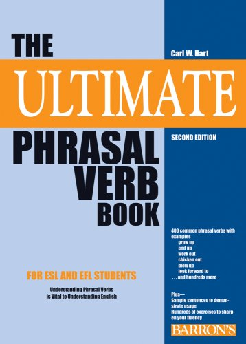 9780764141201: The Ultimate Phrasal Verb Book
