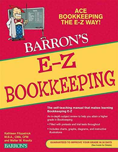 E-Z Bookkeeping (Barron's E-Z Series): Kathleen Fitzpatrick, Wallace