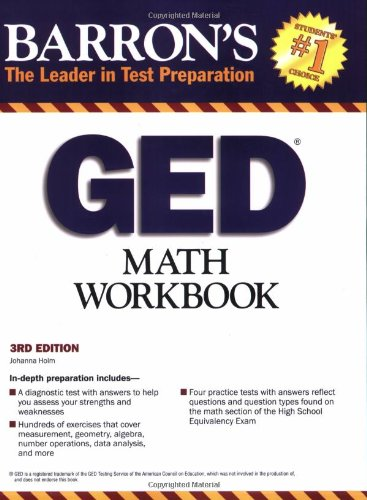 9780764142062: GED Math Workbook (Barron's: The Leader in Test Preparation)