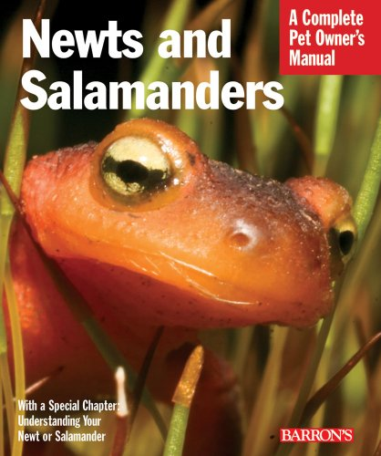 9780764142437: Newts and Salamanders (Complete Pet Owner's Manuals)