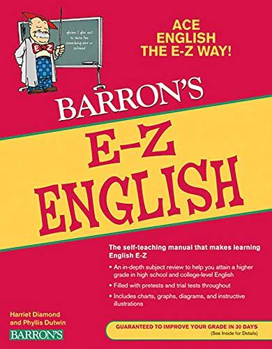 E-Z English (Barron's E-Z Series): Harriet Diamond; Phyllis Dutwin