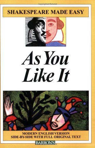 9780764142727: As You Like It (Shakespeare Made Easy Series)