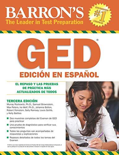 9780764143014: Barron's GED Edición En Español: El Repaso Y Las Pruebas De Práctica Más Actualizados De Todos (Barron's GED (Spanish)) (Spanish Edition)