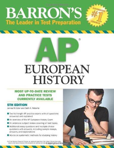9780764143137: Barron's AP European History
