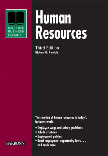 9780764143182: Human Resources (Barron's Business Library Series)