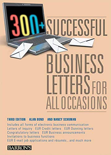 9780764143199: 300+ Successful Business Letters for All Occasions (Barron's 300+ Successful Business Letters for All Occasions)