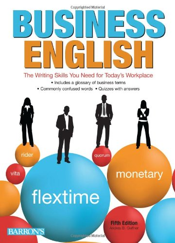 9780764143274: Business English: The Writing Skills You Need for Today's Workplace