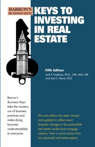 9780764143298: Keys to Investing in Real Estate (Barron's Business Keys) (Volume 1)