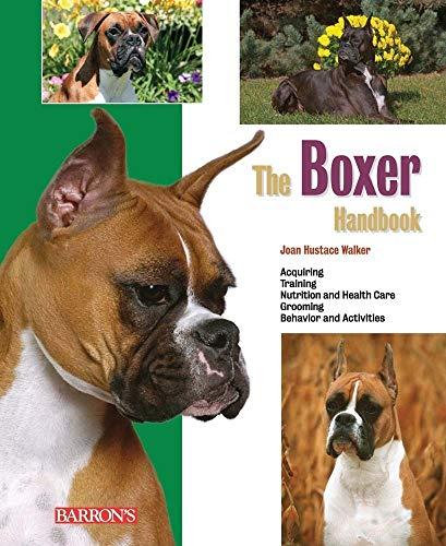 9780764143427: The Boxer Handbook (Barron's Pet Handbooks)