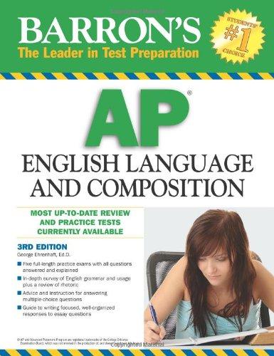 9780764143489: Barron's AP English Language and Composition