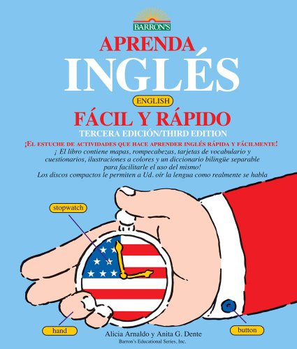 9780764143496: Aprenda Ingles Facil Y Rapido, Book: Learn English the Fast and Fun Way for Spanish Speakers
