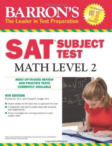 9780764143540: Barron's SAT Subject Test Math Level 2