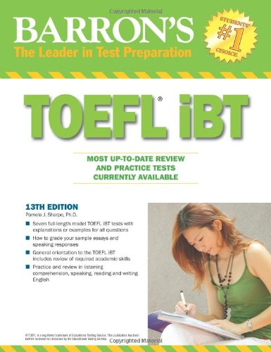 9780764143687: Barron's TOEFL iBT: Internet-based Test