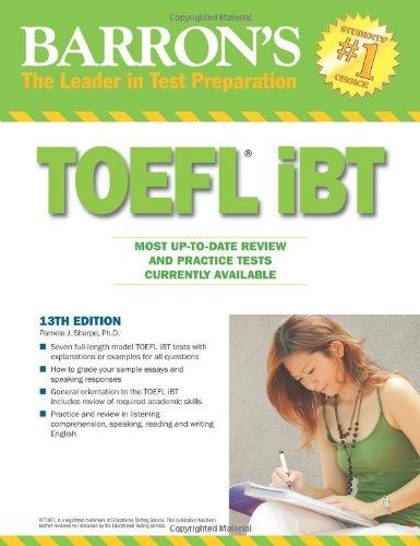 9780764143687: Barron's TOEFL iBT: Internet-based Test