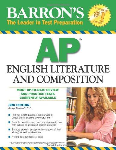 9780764143748: Barron's AP English Literature and Composition