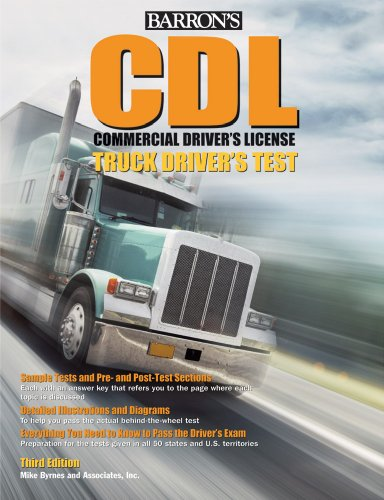 9780764143823: Barron's CDL Commercial Driver's License Truck Driver's Test (Barron's Cdl Truck Driver's Test)