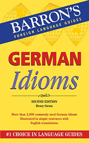 9780764143830: German Idioms (Barron's Foreign Language Guides)
