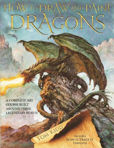 9780764143861: How to Draw and Paint Dragons: A Complete Course Built Around These Legendary Beasts