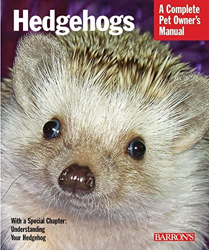 9780764144394: Hedgehogs (Barron's Complete Pet Owner's Manuals (Paperback))