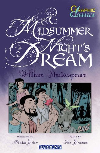 9780764144486: A Midsummer Night's Dream (Graphic Classics)