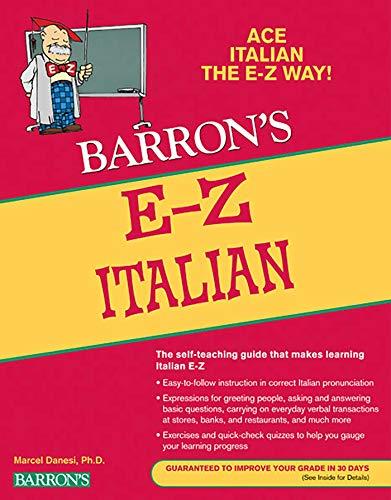9780764144547: E-Z Italian (Barron's E-Z Series)