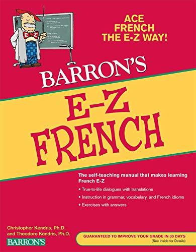 9780764144554: E-Z French (Barron's E-Z Series)