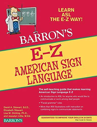 9780764144585: E-Z American Sign Language (Barron's Easy Way)