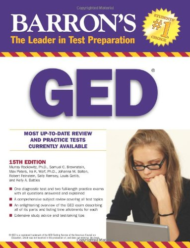 9780764144639: Barron's GED High School Equivalency Exam (Barron's GED (Book Only))