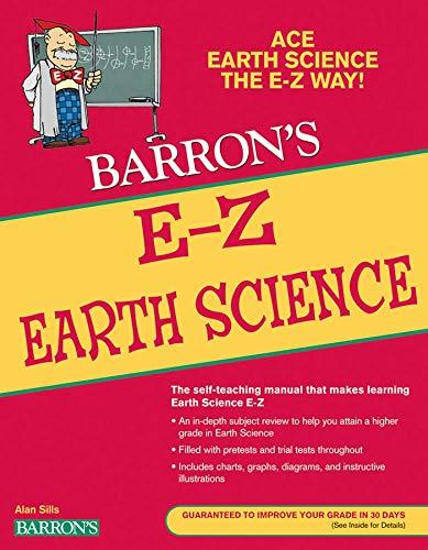 9780764144646: E-Z Earth Science (Barron's E-Z Series)
