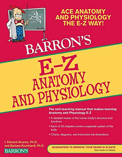 9780764144684: Barron's E-Z Anatomy and Physiology