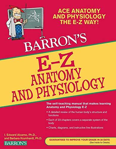 9780764144684: E-Z Anatomy and Physiology (Barron's E-Z Series)