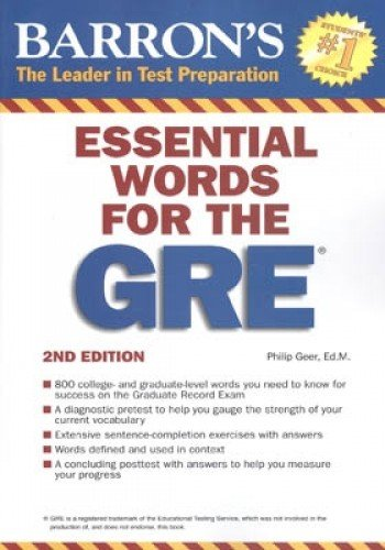 9780764144783: Essential Words for the GRE (Barron's GRE)
