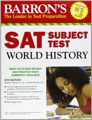 9780764144844: Barron's SAT Subject Test World History