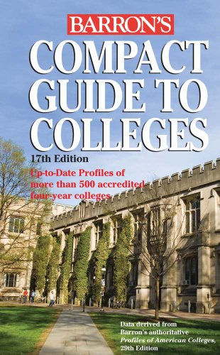 9780764144875: Compact Guide to Colleges (Barron's Compact Guide to Colleges)