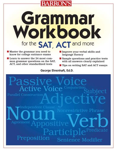 9780764144899: Grammar Workbook for the SAT, ACT, and More