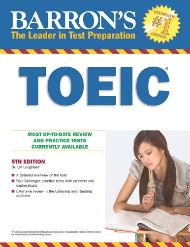 9780764145575: Barron's TOEIC: Test of English for International Communication