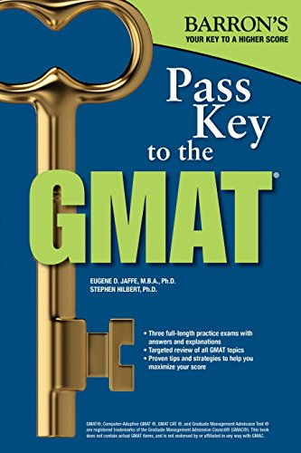 9780764145629: Pass Key to the GMAT (Barron's Pass Key to the GMAT)