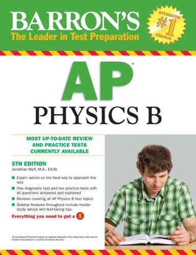 9780764145681: Barron's AP Physics B