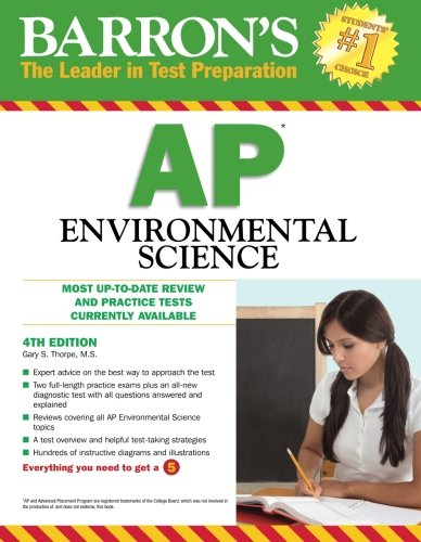 9780764145711: Barron's AP Environmental Science