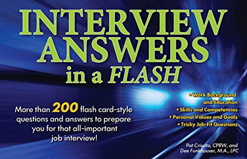 9780764145940: Interview Answers in a Flash: More than 200 flash card-style questions and answers to prepare you for that all-important job interview!