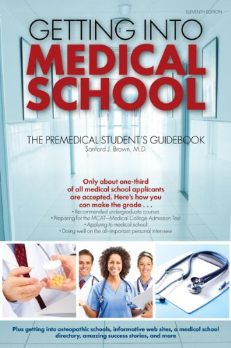 9780764145971: Getting Into Medical School: The Premedical Student's Guidebook