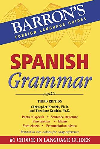 9780764146077: Spanish Grammar (Barron's Grammar Series)