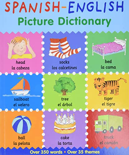 9780764146619: Spanish-English Picture Dictionary