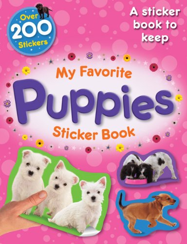 9780764146664: My Favorite Puppies (My Favorite Pets Sticker Books)
